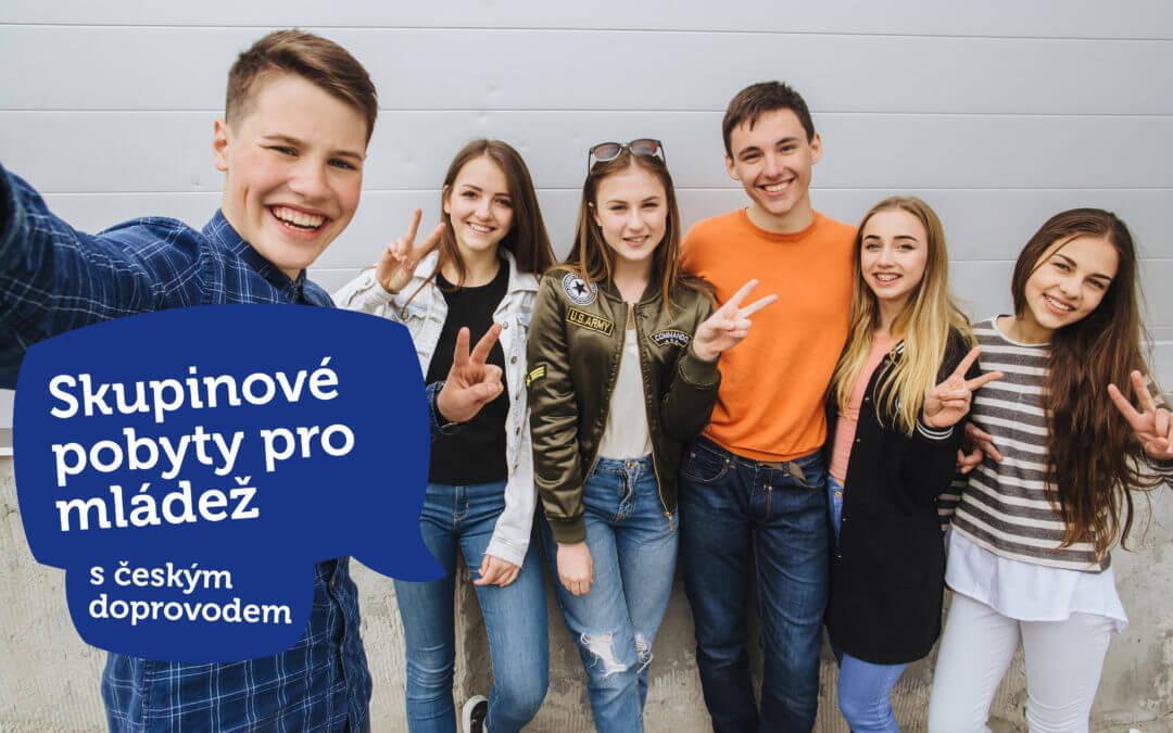 Skupinové pobyty pro mládež s českým doprovodem