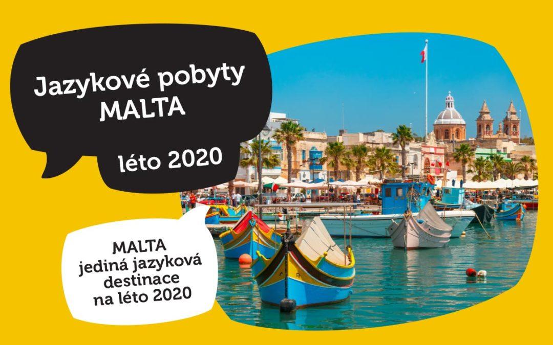 Jazykové pobyty MALTA léto 2020